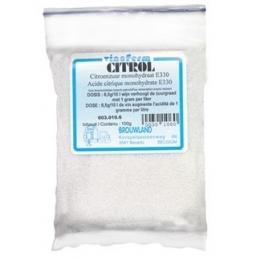 Citrol 100 gr. (citronsyre)