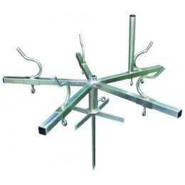 Trådspole med jordspyd