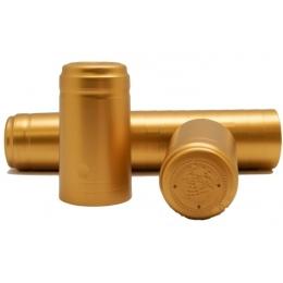 Krympehætte guld 500 stk.