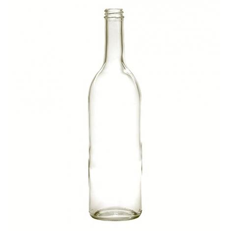 Flasker klar skruelåg (genbrugs)