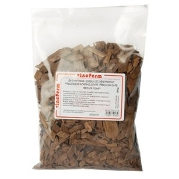 Oak chips french medium ristet 250 gr.