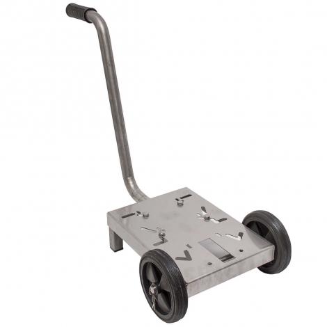 Vogn i rustfrit stål til elektrisk pumpe