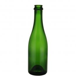 Champagne flasker grøn (genbrugs) 37,5 cl