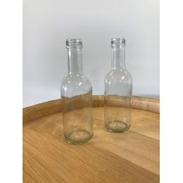 lille klar flaske til skruelåg 26,5 cl