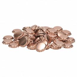 Kapsler 26 mm, 100 stk metallic pink